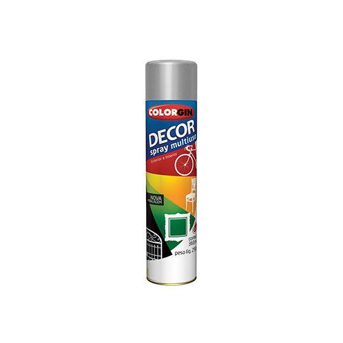 Imagem do produto COLORGIN - SPRAY DECOR ALUMINIO 360ML 858