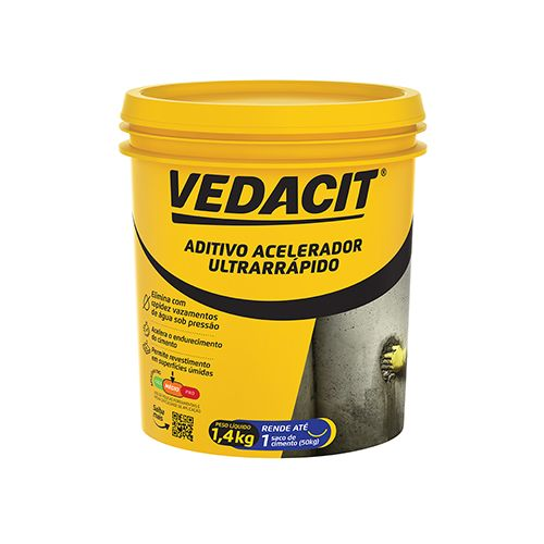 Imagem do produto VEDACIT RAPIDISSIMO A POTE 1,4KG