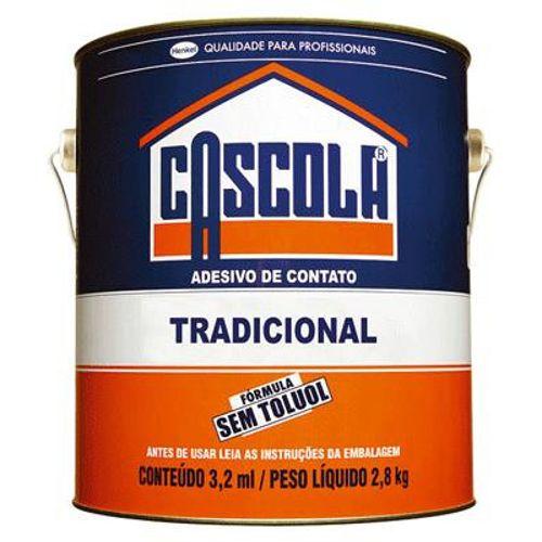Imagem do produto CASCOLA - COLA CONTATO 2,8KG S/TOLUOL