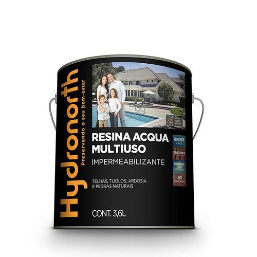 Imagem do produto HYDRONORTH - RESINA B.AGUA  3,6L CINZA