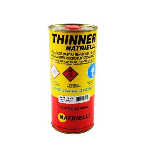 Imagem do produto NATRIELLI - THINNER LIMPEZA   900ML 8116