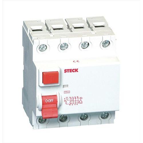 Imagem do produto STECK - INTERRUPTOR FUGA DR 4P  63A 30MA