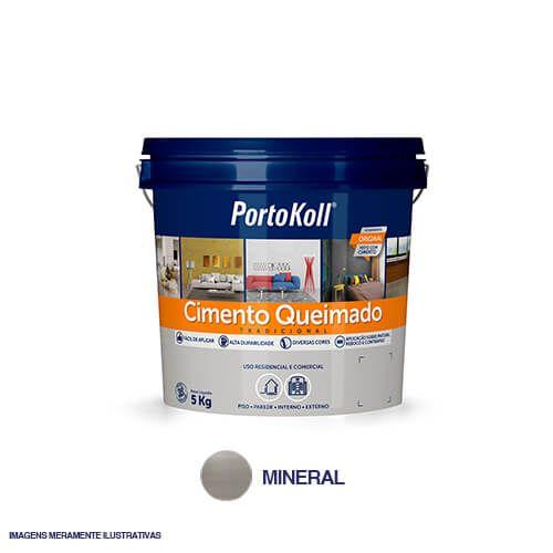 Imagem do produto PORTOKOLL - CIMENTO QUEIMADO MINERAL 5KG