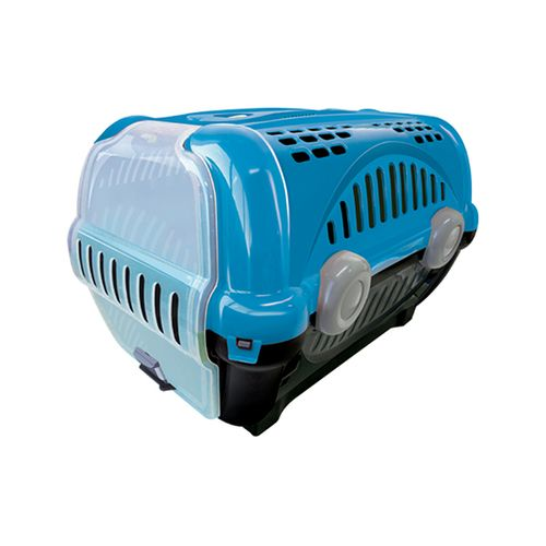 Imagem do produto FP - CX TRANSPORTE LUXO CAES/GATOS N01 AZUL