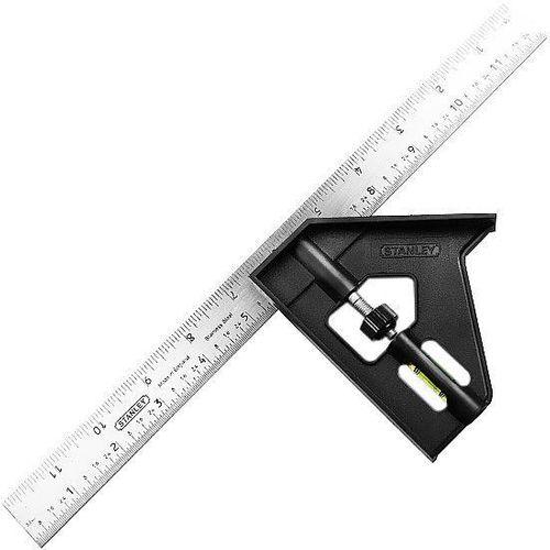 Imagem do produto STANLEY - ESQUADRO COMBINADO 30CM 46012