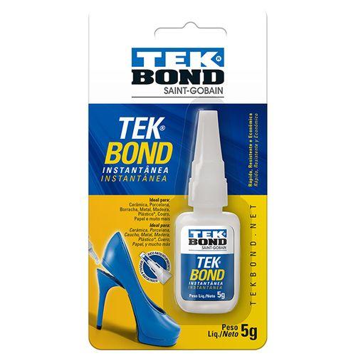 Imagem do produto TEK BOND - COLA INST   5G SUPER COLA