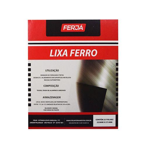 Imagem do produto FERJA - LIXA FERRO 060 K-240