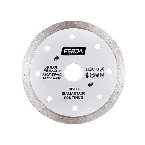 Imagem do produto FERJA - DISCO DIAM CONT 43/8  PRO
